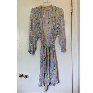 Soma large/xl lemon robe